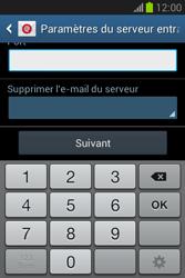 Samsung Galaxy Fame Lite - E-mail - configuration manuelle - Étape 11