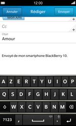 BlackBerry Z10 - E-mail - envoyer un e-mail - Étape 9