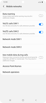 Samsung Galaxy S20 Ultra 5G - Network - Manual network selection - Step 6