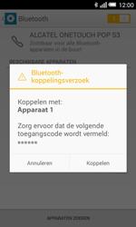 Alcatel POP S3 - bluetooth - headset, carkit verbinding - stap 7