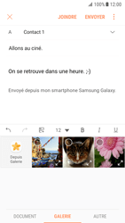 Samsung G930 Galaxy S7 - Android Nougat - E-mail - Envoi d