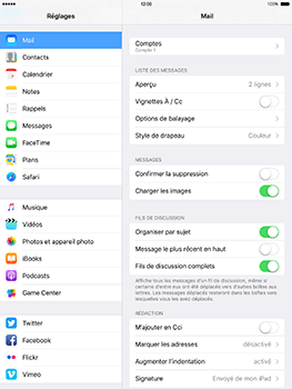 Apple iPad mini 4 iOS 10 - E-mail - Configuration manuelle - Étape 17