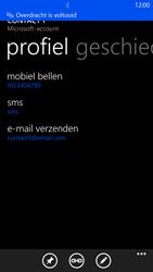 Nokia Lumia 1320 - contacten, foto