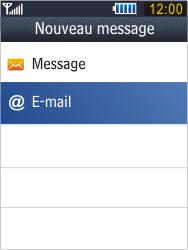 Samsung B3410 Star Qwerty - E-mail - envoyer un e-mail - Étape 4