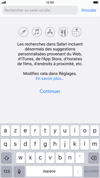 Apple iPhone 7 Plus - iOS 13 - Internet et roaming de données - Navigation sur Internet - Étape 4