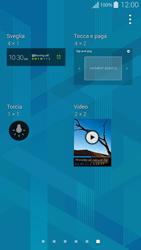 Samsung G850F Galaxy Alpha - Operazioni iniziali - Installazione di widget e applicazioni nella schermata iniziale - Fase 5