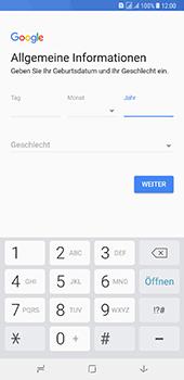 Samsung Galaxy A8 Plus (2018) - Apps - Konto anlegen und einrichten - 8 / 19