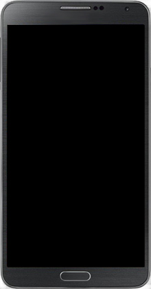 Samsung Galaxy Note 3 - Premiers pas - Découvrir les touches principales - Étape 3