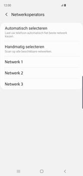 Samsung Galaxy S10 - Netwerk - Handmatig een netwerk selecteren - Stap 10