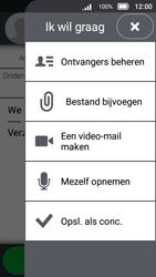 Doro 8031 - E-mail - E-mail versturen - Stap 14