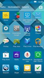 Alcatel Pop C7 - Applications - installation d
