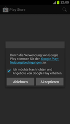 Samsung Galaxy S3 - Apps - Konto anlegen und einrichten - 2 / 2