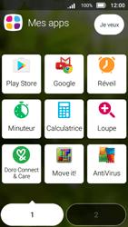 Doro 8031 - Applications - Créer un compte - Étape 3