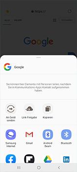 Samsung Galaxy A51 - Internet und Datenroaming - Verwenden des Internets - Schritt 22