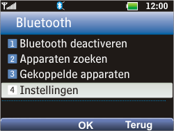 LG C360 Golf - bluetooth - aanzetten - stap 6