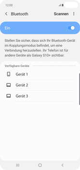 Samsung Galaxy S10 Plus - Bluetooth - Geräte koppeln - Schritt 9