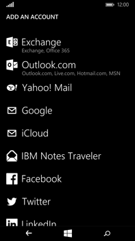 Microsoft Lumia 640 XL - Email - Manual configuration IMAP without SMTP verification - Step 6