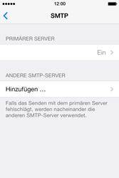 Apple iPhone 4 S mit iOS 7 - E-Mail - Konto einrichten - Schritt 19