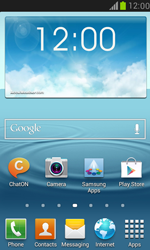Samsung Galaxy S III Mini - Applications - Setting up the application store - Step 1