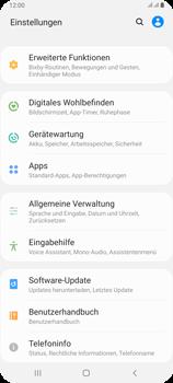Samsung Galaxy A80 - Apps - Eine App deinstallieren - Schritt 4
