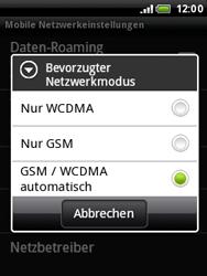 HTC Wildfire - Netzwerk - Netzwerkeinstellungen ändern - 7 / 7