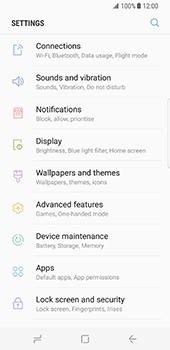 Samsung Galaxy S8 - WiFi - WiFi configuration - Step 4