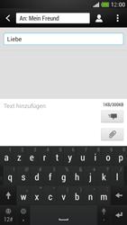 HTC One Mini - MMS - Erstellen und senden - Schritt 12
