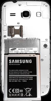 Samsung G3500 Galaxy Core Plus - SIM-Karte - Einlegen - Schritt 8