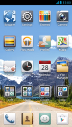 Huawei Ascend G526 - Network - Manual network selection - Step 3