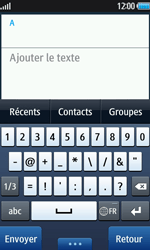 Samsung Wave 2 - Contact, Appels, SMS/MMS - Envoyer un SMS - Étape 4