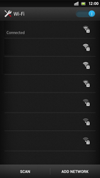 Sony Xperia S - WiFi - WiFi configuration - Step 8
