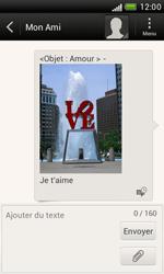 HTC T328e Desire X - MMS - envoi d'images - Étape 14