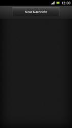 Sony Xperia J - MMS - Erstellen und senden - Schritt 5