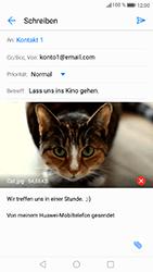 Huawei P8 Lite 2017 - E-Mail - E-Mail versenden - Schritt 16