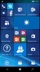 Microsoft Lumia 550 - Aller plus loin - Restaurer les paramètres d'usines - Étape 1