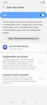 Samsung galaxy-s10-lite-dual-sim-sm-g770f - Beveiliging en ouderlijk toezicht - Zoek mijn mobiel inschakelen - Stap 7