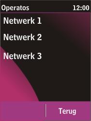 Nokia C2-03 - netwerk en bereik - gebruik in binnen- en buitenland - stap 9