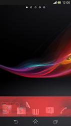 Sony Xpéria Z - Applications - Personnaliser l