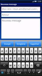 Sony Ericsson Xperia X10 - E-mail - envoyer un e-mail - Étape 6