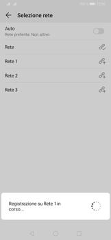 Huawei P30 - Rete - Selezione manuale della rete - Fase 10