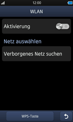 Samsung S8500 Wave - WLAN - Manuelle Konfiguration - Schritt 5
