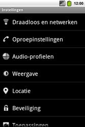 Alcatel OT-991 Smart - wifi - handmatig instellen - stap 4