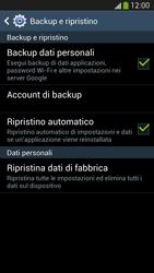 Samsung Galaxy S 4 Active - Dispositivo - Ripristino delle impostazioni originali - Fase 7