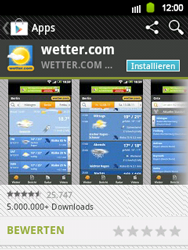 Samsung Galaxy Y - Apps - Herunterladen - 15 / 24