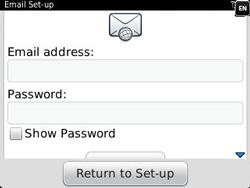 BlackBerry 9320 Curve - E-mail - Manual configuration - Step 7