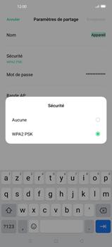 Oppo Find X2 Pro - WiFi - Comment activer un point d'accès WiFi - Étape 8