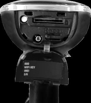 Huawei Carfi - Premiers pas - Noter les codes Wi-Fi - Étape 3