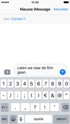 Apple iPhone SE - iOS 10 - iOS features - Stuur een iMessage - Stap 12