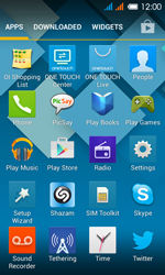 Alcatel One Touch Pop C3 - Applications - How to uninstall an app - Step 3