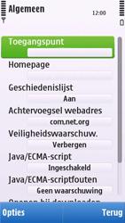 Nokia C6-00 - internet - handmatig instellen - stap 18
